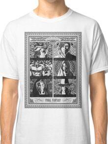 Final Fantasy Jobs Geek Art Poster Classic T-Shirt