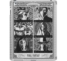 Final Fantasy Jobs Geek Art Poster iPad Case/Skin