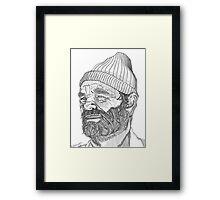 Steve Zissou (Bill Murray) Framed Print