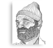 Steve Zissou (Bill Murray) Canvas Print