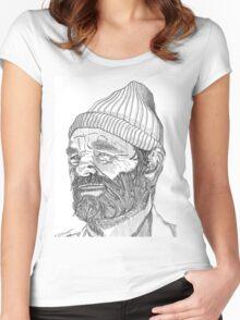 Steve Zissou (Bill Murray) Women's Fitted Scoop T-Shirt