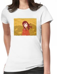 Four Seasons  - Autumn Womens Fitted T-Shirt
