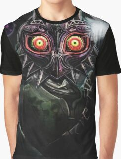 Legend of Zelda Majora's Mask Dark Link Graphic T-Shirt