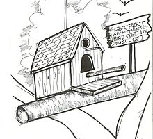 Bird House for Rent by charlesadams