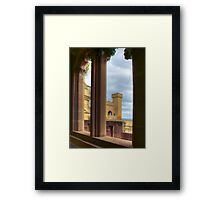 View in HDR Framed Print
