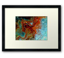 Octophant (Quartz) Framed Print