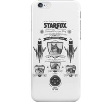 Star Fox Nintendo Vintage Poster iPhone Case/Skin