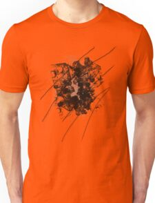 Cool Rusty Grunge Vintage Scratches  Unisex T-Shirt