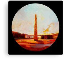 Obelisco di Marconi Canvas Print