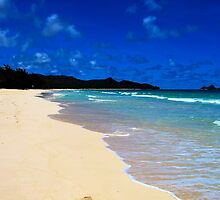 Bellows Beach (Oahu) II by ZWC Photography