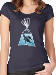 Small World 2 Women's Fitted Scoop T-Shirt