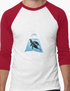 Small World 2 Men's Baseball ¾ T-Shirt
