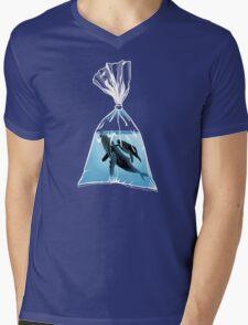 Small World 2 Mens V-Neck T-Shirt
