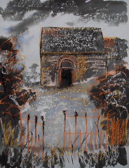 'Heath Chapel, Shropshire' by Martin Williamson (©cobbybrook)