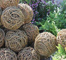 Wooden spheres  by Aaron  Wahab