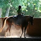 Morning Ride I by Virginia Kelser Jones