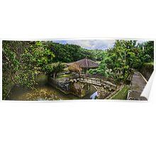 Japanese Pond Poster
