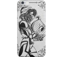 Legend of Zelda Shiek Princess Geek Line Artly  iPhone Case/Skin