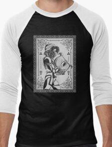 Legend of Zelda Shiek Princess Geek Line Artly  Men's Baseball ¾ T-Shirt