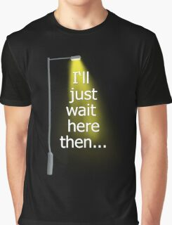 Supernatural I'll Just Wait Here Then Graphic T-Shirt