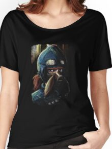 Nausicaa Valley of the Wind Anime Tra Digital Painting  Women's Relaxed Fit T-Shirt