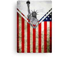 Flags - USA Canvas Print