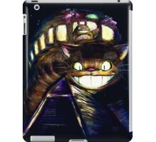 Cat Bus and Totoro are in Your Town iPad Case/Skin