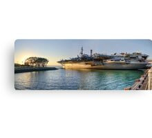 Midway Panorama Canvas Print