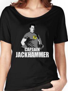 CAPTAIN JACKHAMMER Women's Relaxed Fit T-Shirt