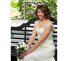 the bride {newest member of the clan Wilson} Photographic Print
