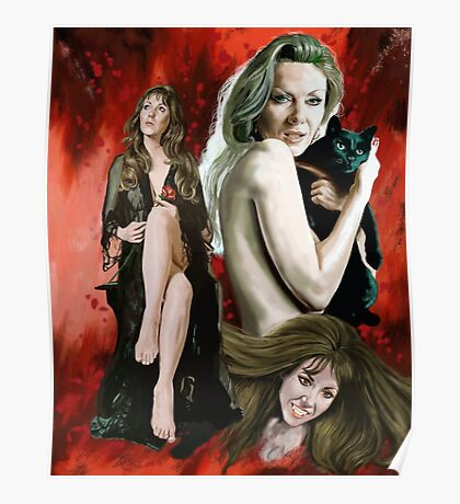Ingrid Pitt Poster