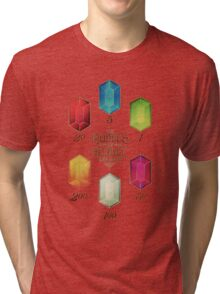 Legend of Zelda The Rupees Geek Line Artly Tri-blend T-Shirt