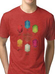 Legend of Zelda The Rupees Geek Line Artly Tri-blend T-Shirt