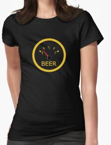 Running on Empty Womens Fitted T-Shirt
