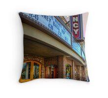 San Juan Theater Throw Pillow