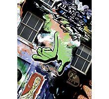Green Finger Photographic Print