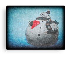 Frosty Mania Canvas Print