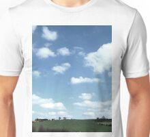 Blue sky at night Unisex T-Shirt