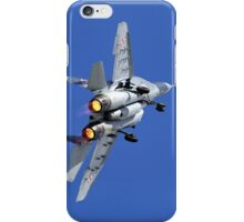 Polish Air Force Mikoyan Gurevich MiG-29A Fulcrum A, Red 111 iPhone Case/Skin