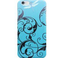 Dragonfly Swirl iPhone Case/Skin