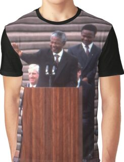 Nelson Mandela, Sydney Opera House, Australia 1990 Graphic T-Shirt