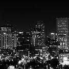 Denver In Black and White by Katagram