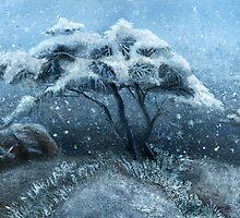Winter tree by Bjorn Eek