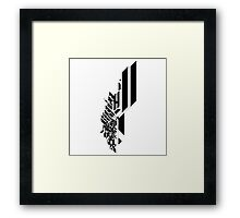 BW : City Circuit  Framed Print