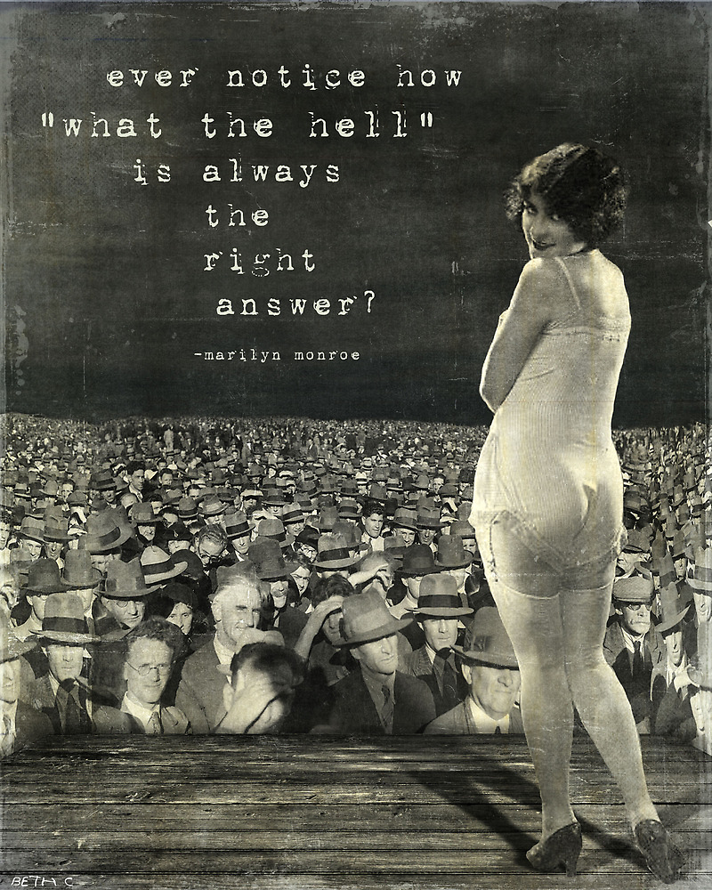 what the hell by Beth Conklin
