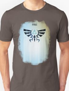 Legend of Zelda Hyrule Rising Minimal Vector Poster  T-Shirt