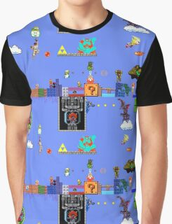 Old School Times Graphic T-Shirt