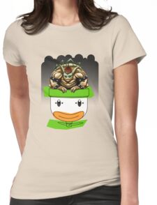 King Koopa's Clown Car Womens Fitted T-Shirt