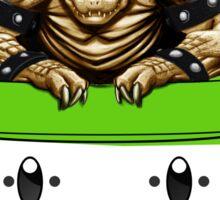 King Koopa's Clown Car Sticker