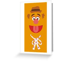 Fozzie Bear Greeting Card
